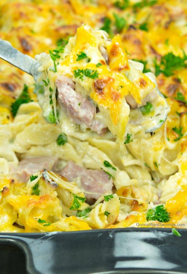 Easy Ham Casserole Recipe