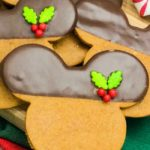 Gingerbread Mickey Cookies