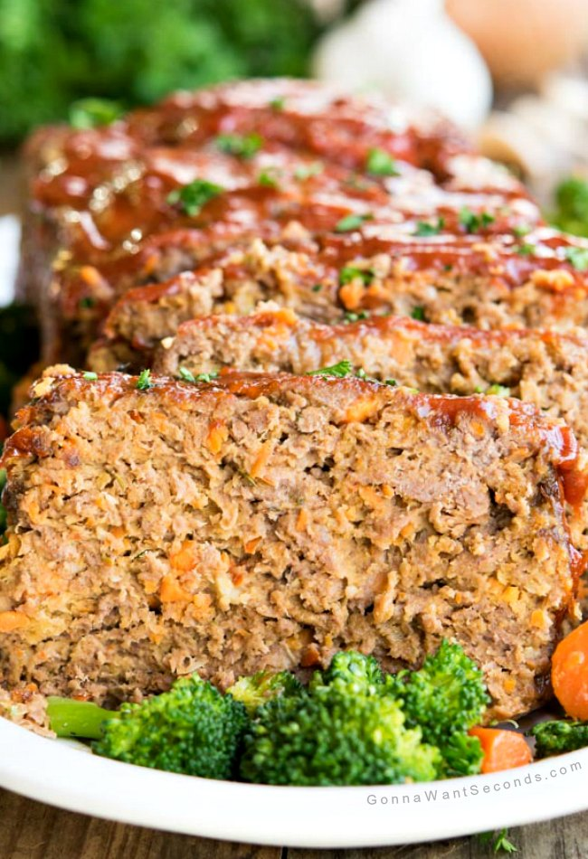 Meatloaf Recipes Carrots Peppers Food Network
