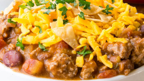 Easy Mexican Taco Chili Recipe Gonna Want Seconds