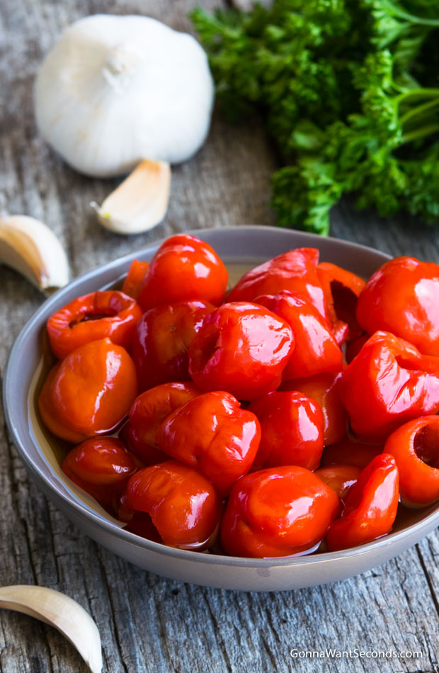 Peppadew Peppers in a bowl