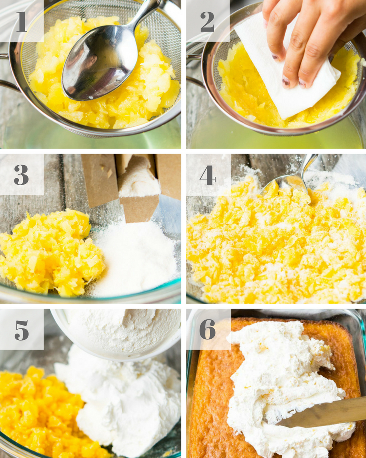 Step By Step How To Make Pig Pickin Cake Frosting