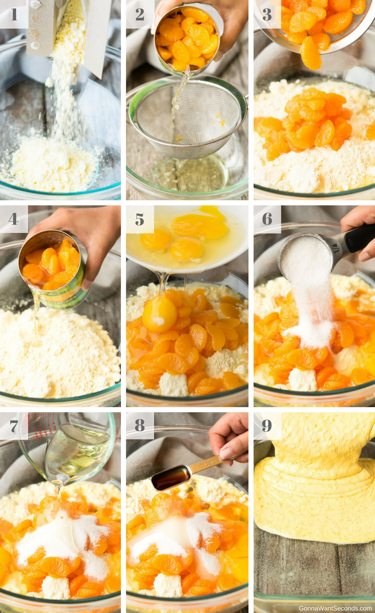 Step By Step How To Make Pig Pickin Cake