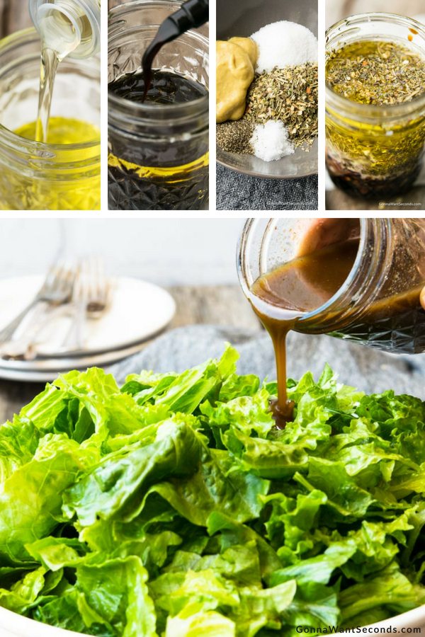 Step By Step How To Make Balsamic Vinaigrette