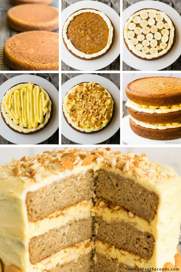 Step By Step How To Make Banana Pudding Cake
