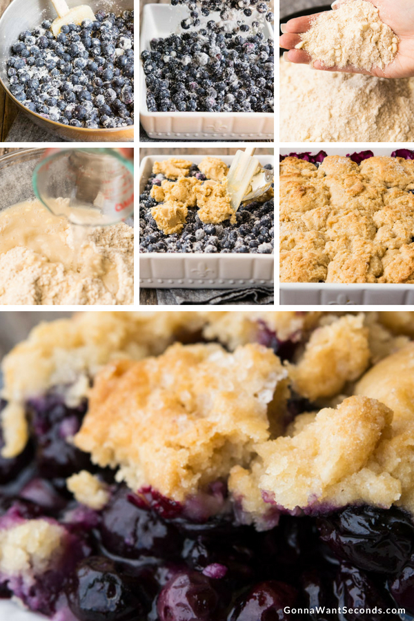 Easy Blueberry Cobbler Old Fashioned Summertime Dessert Perfection