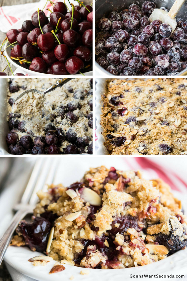 Step By Step How To Make Cherry Crisp