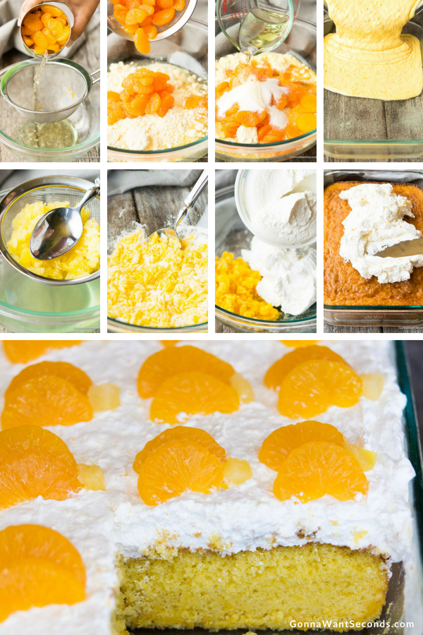 Step By Step How To Make Pineapple Sunshine Cake