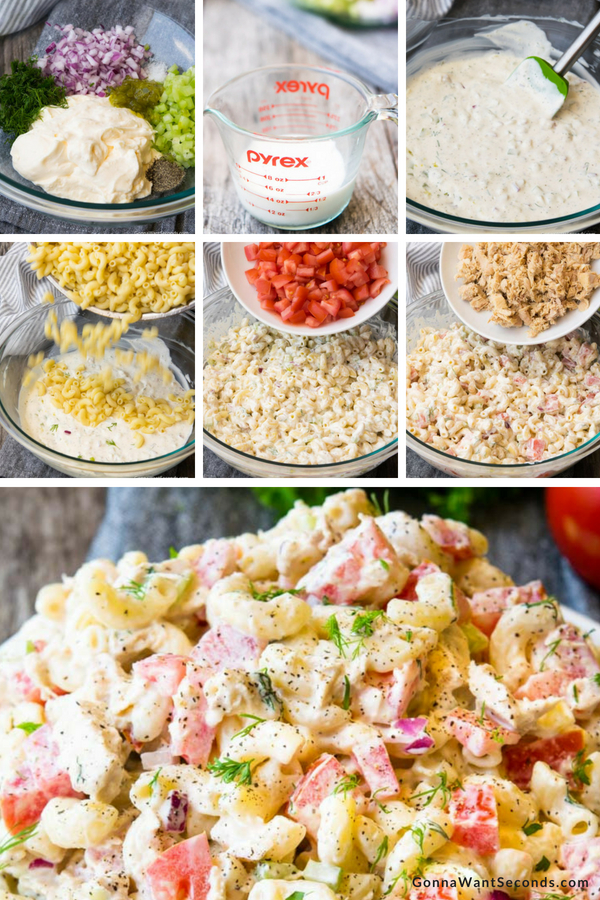 Step By Step How To Make Tuna Pasta Salad