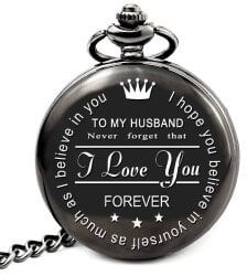 24 Best Christmas Gifts For Your Hubby Pocket Watch With Chain