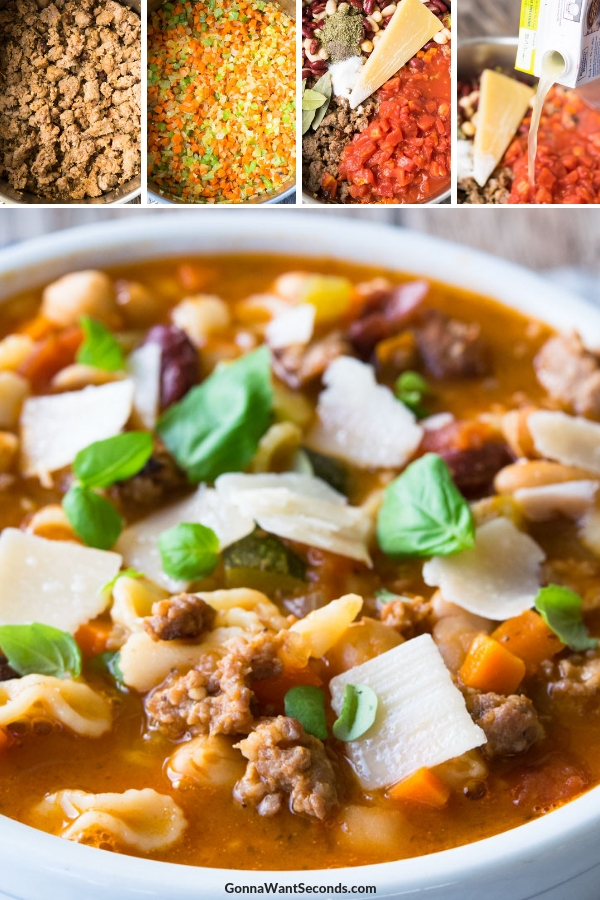 Step By Step How To Make Italian Sausage Soup