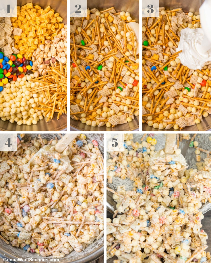Step By Step How To Make White Trash Recipe
