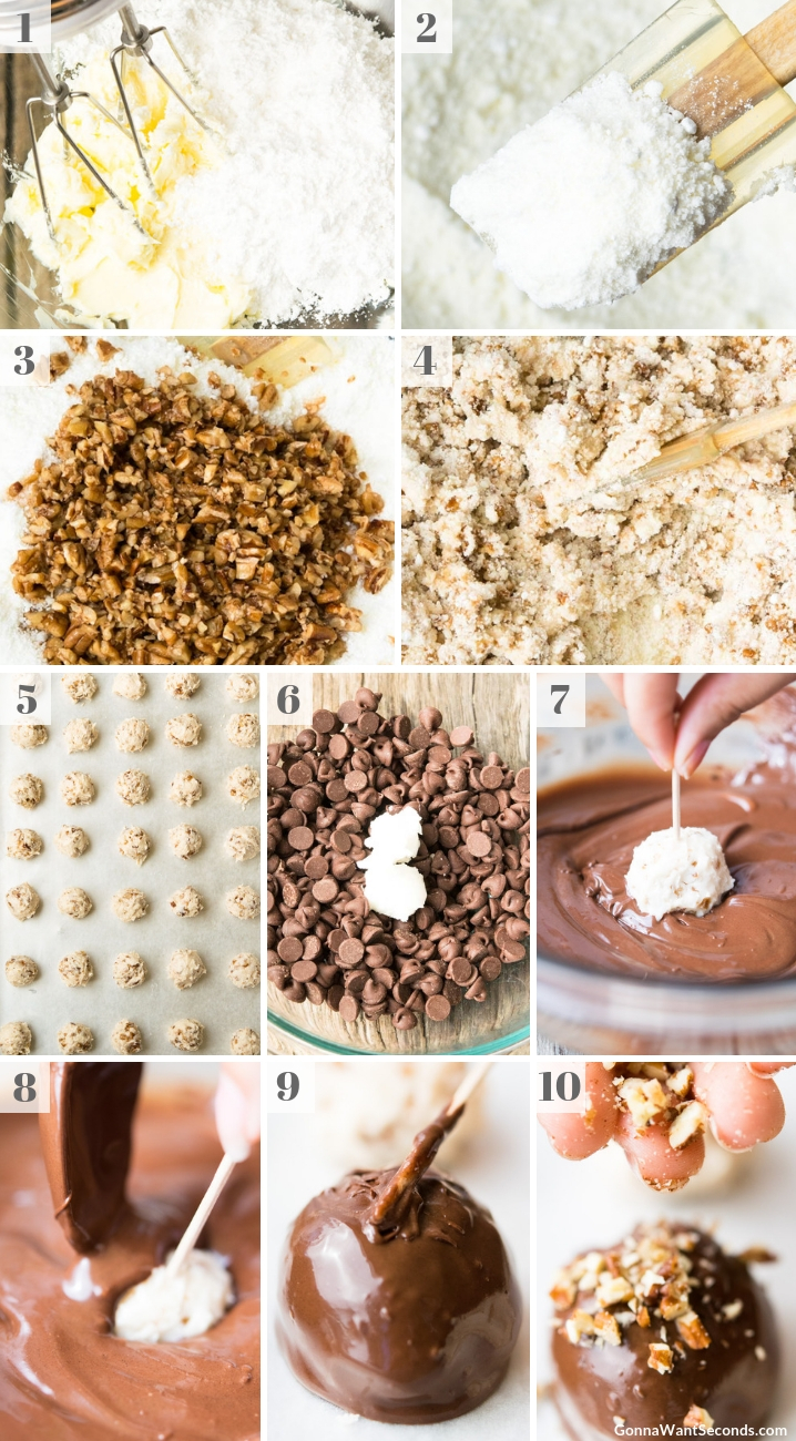 Step By Step How To Make Bourbon Balls
