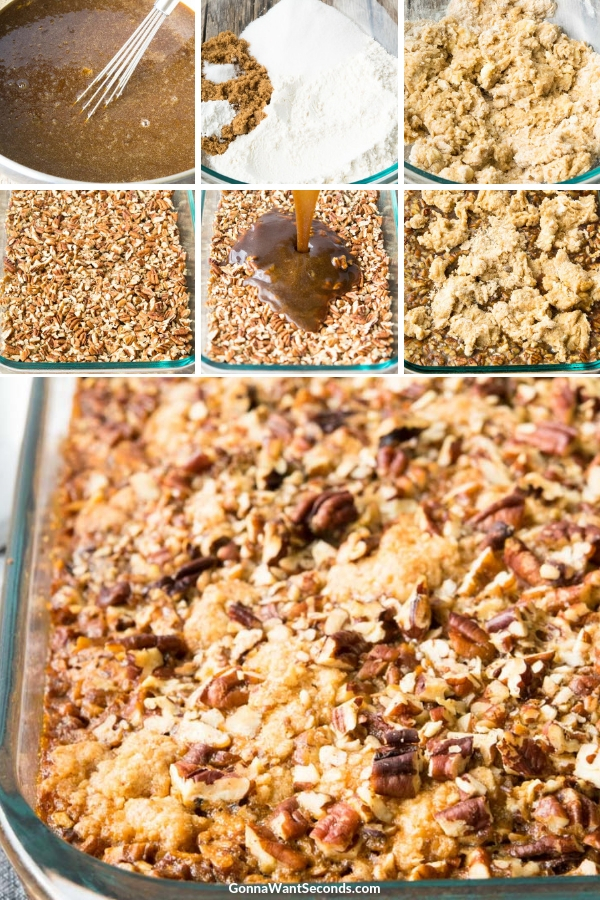 Step By Step How To Make Pecan Pie Cobbler