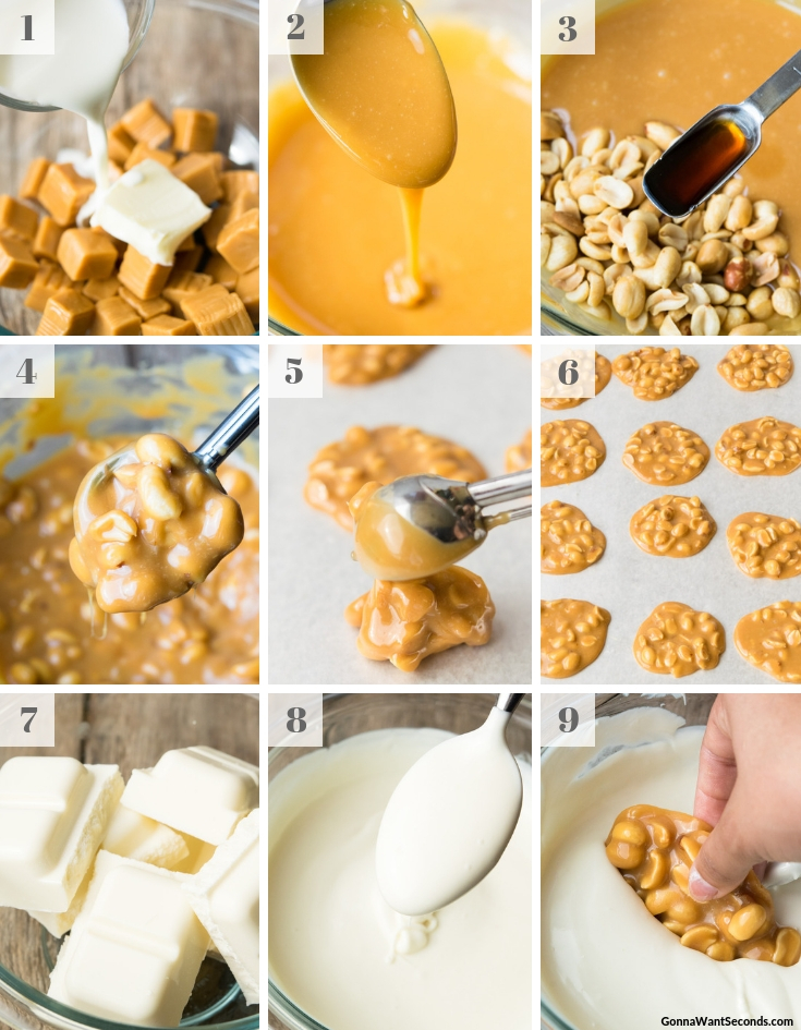 Step By Step How To Make Polar Bear Paw candies