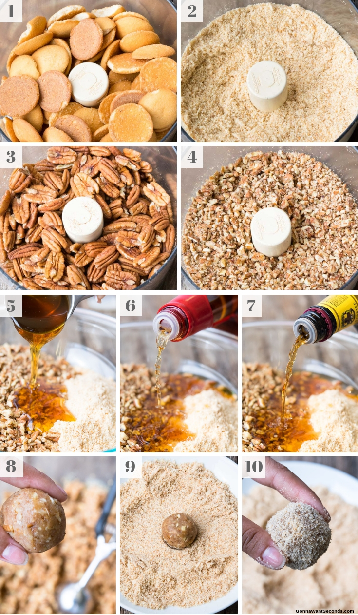 Step By Step How To Make Rum Balls