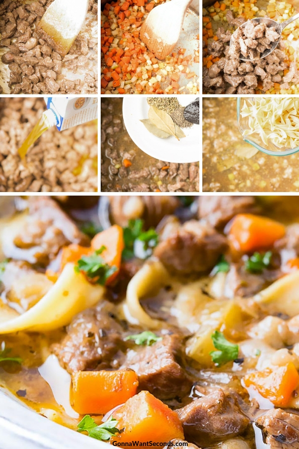 Step By Step How To Make Beef Noodle Soup