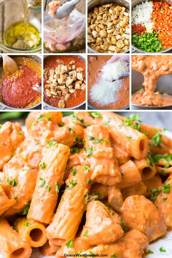 Step By Step How To Make Chicken Riggies
