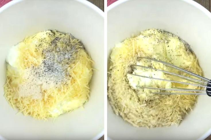Mixing Salad Dressing Ingredients