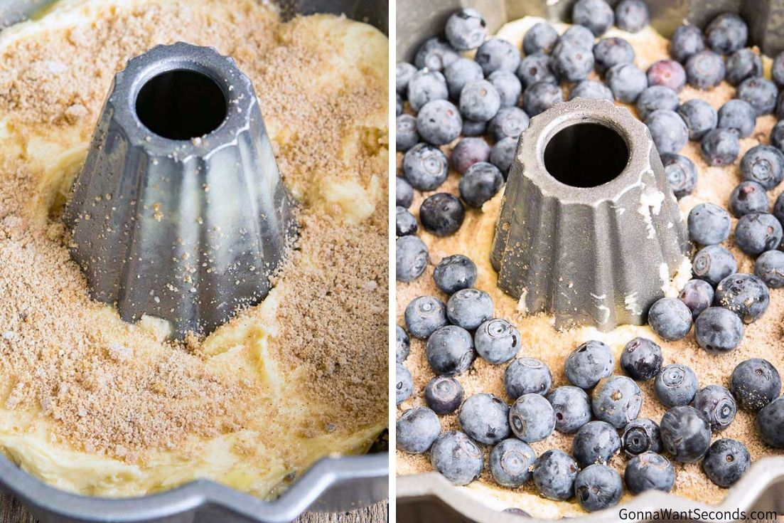 Step By Step How To Make Blueberry Coffee Cake