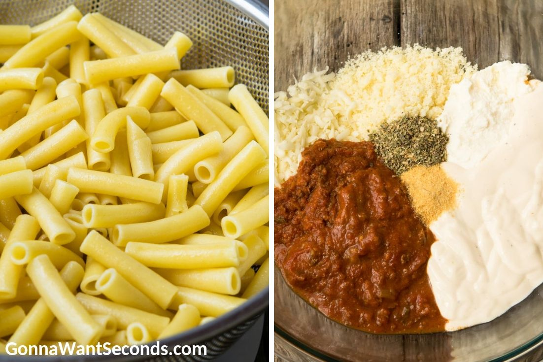 How to make Five Cheese Ziti Al Forno