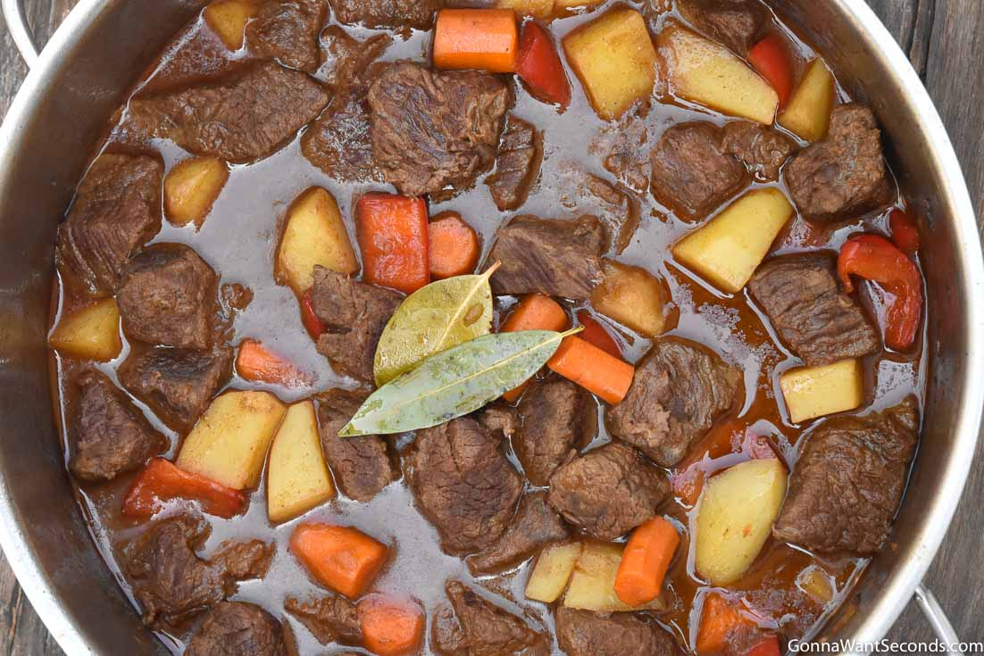Hungarian Goulash One Pot Meal Gonna Want Seconds