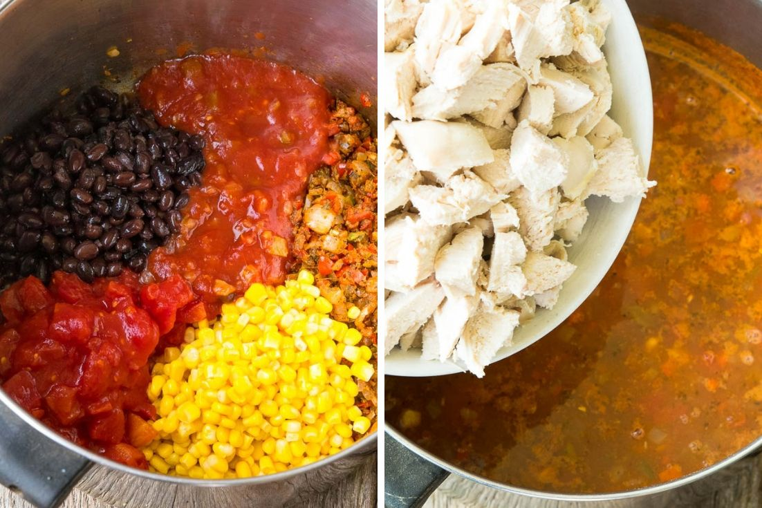 Step By Step How To Cook Mexican Chicken Soup