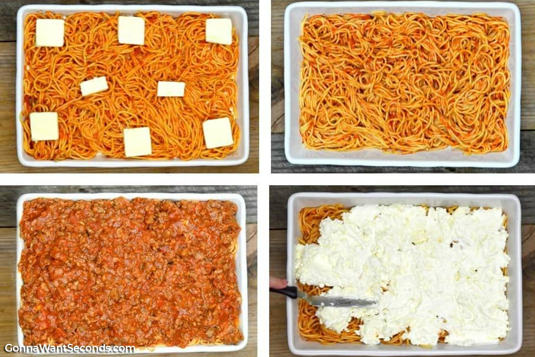 Step By Step how to make Million Dollar Spaghetti