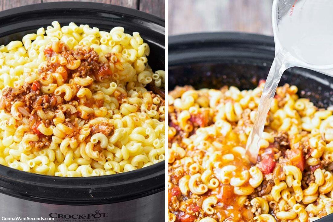 How to make Crockpot Goulash