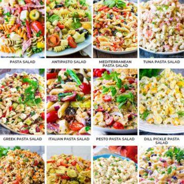 Top 12 pasta salad recipes