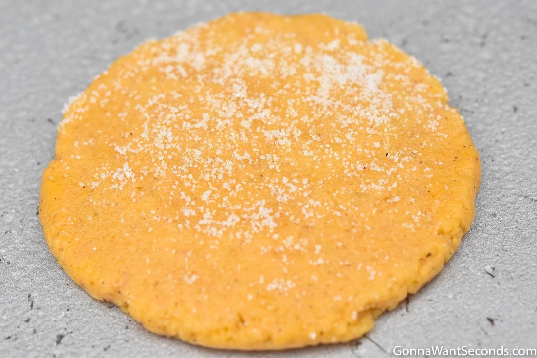 Pumpkin Sugar Cookies without frosting