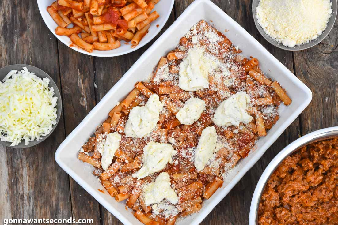 How to make baked ziti with meat