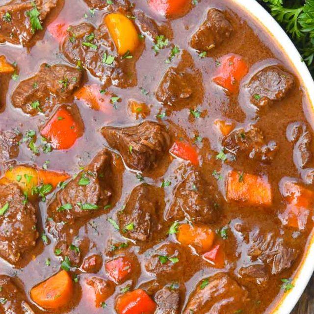 German Goulash (One Pot Comfort Food!)