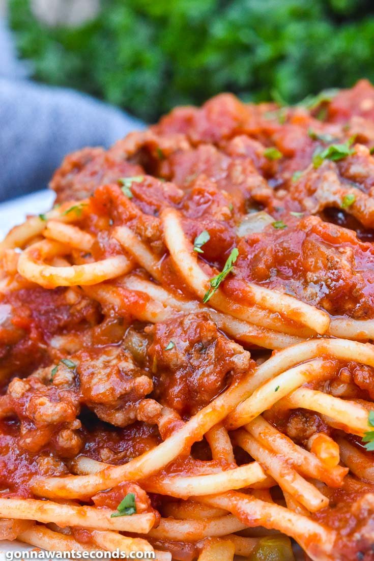 Spaghetti Recipe With Ground Beef Gonna Want Seconds