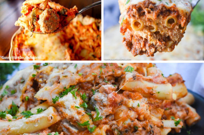 Ziti pasta recipes montage