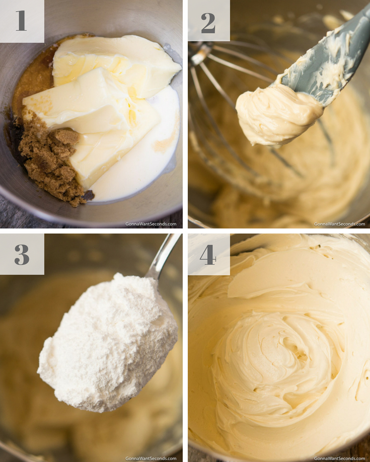Step By Step How To Make Applesauce Cake Frosting