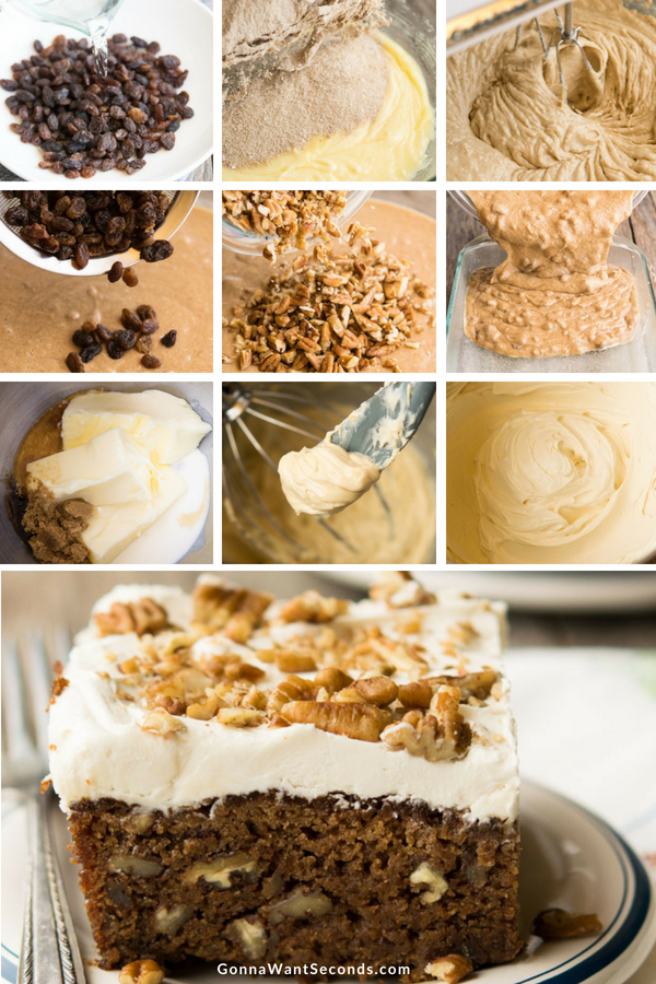 Step By Step How To Make Applesauce Cake