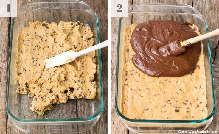 Step By Step How To Make Brookie Bars