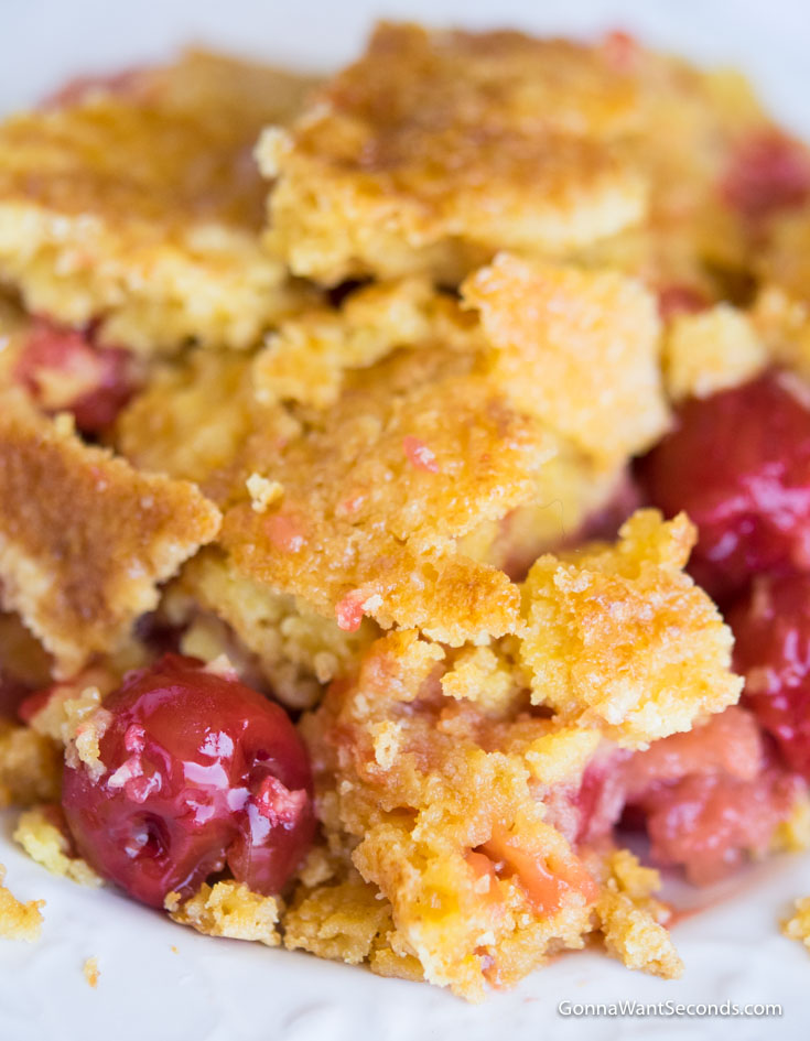 Cherry Dump Cake Recipe Without Pineapple