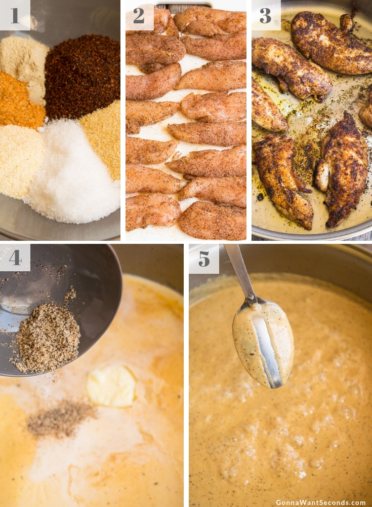 Step By Step How To Make Chicken Lazone