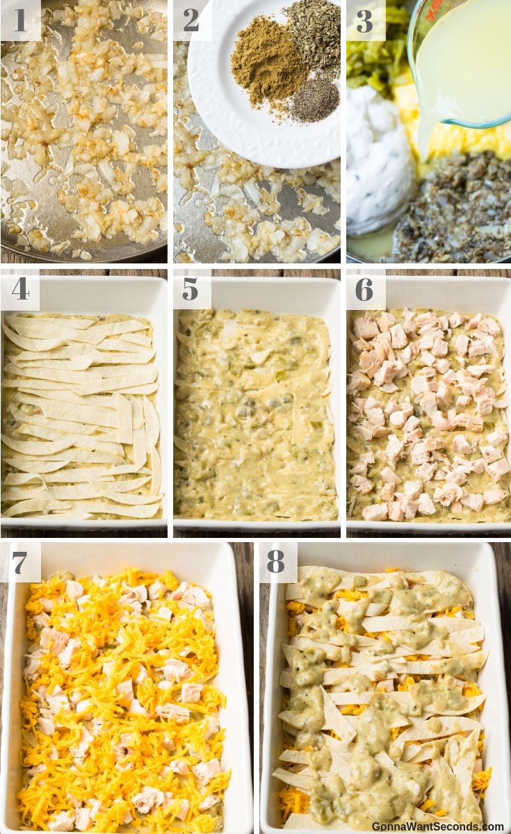 Step By Step How To Make Chicken Tortellini Casserole