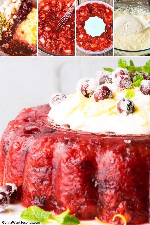 Step By Step How To Make Cranberry Jello Salad