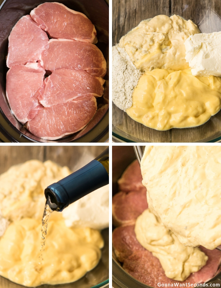 Step By Step How To Make Crock Pot Ranch Pork Chops