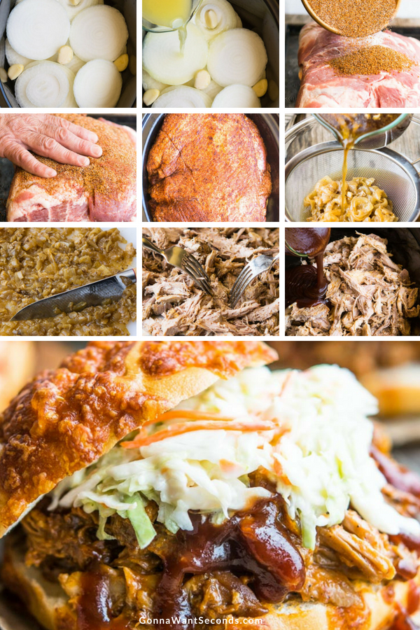 Step By Step How To Make Crockpot Pulled Pork
