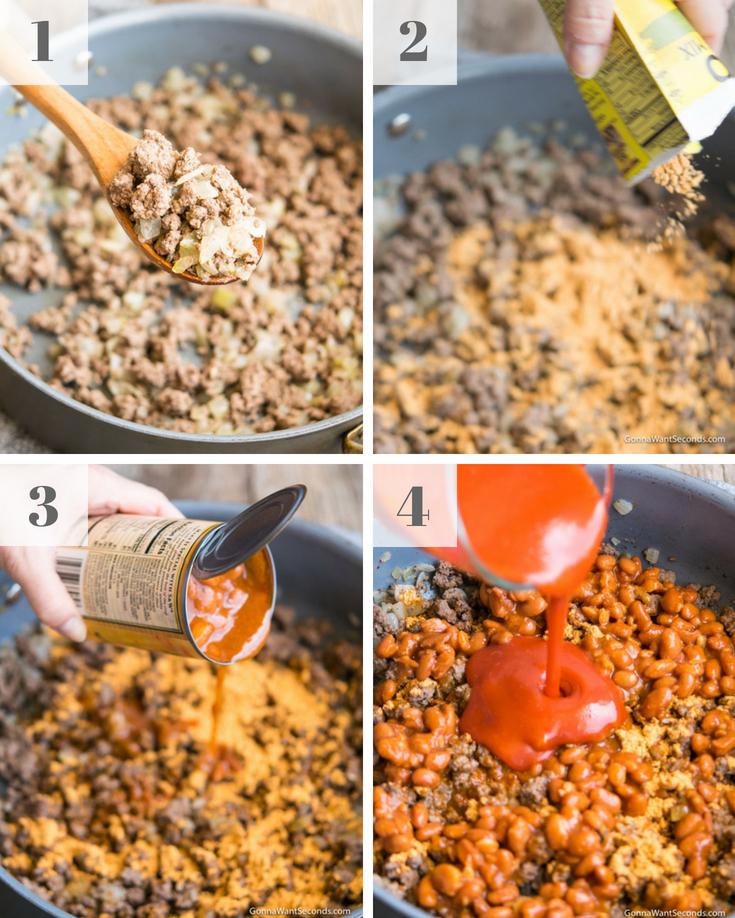 Step By Step How To Dorito Taco Salad