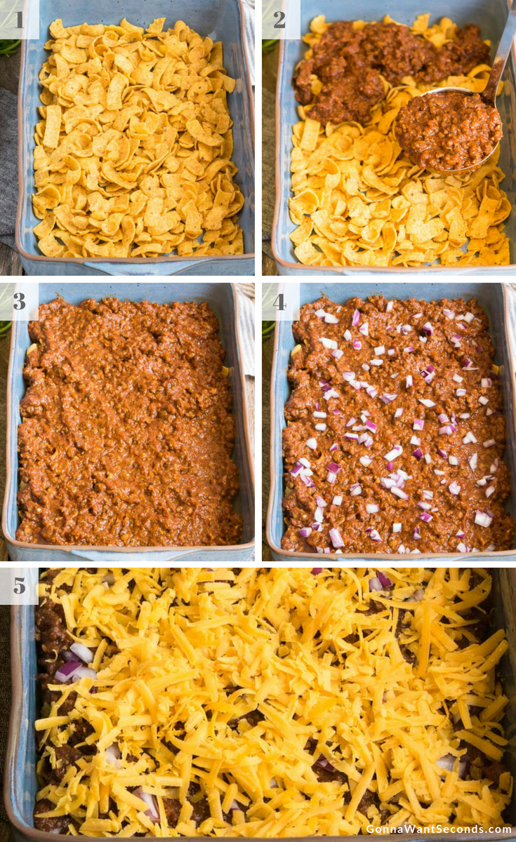 Step By Step How To Make Frito Pie
