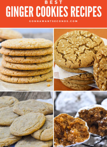 Ginger Cookies Recipes Round Up