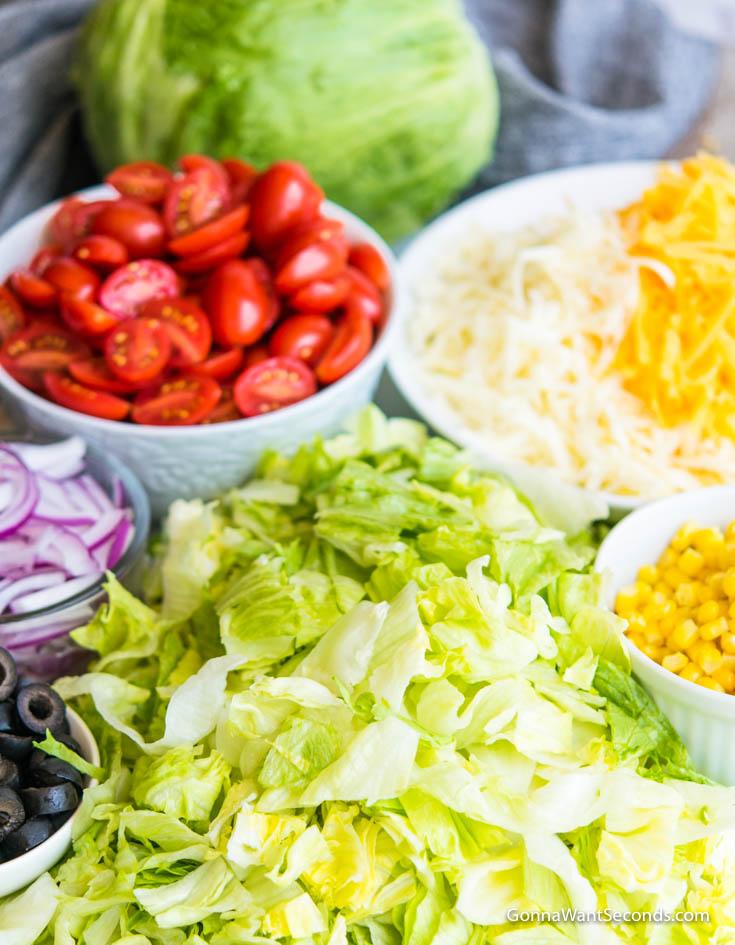 how to make taco salad with doritos and catalina dressing