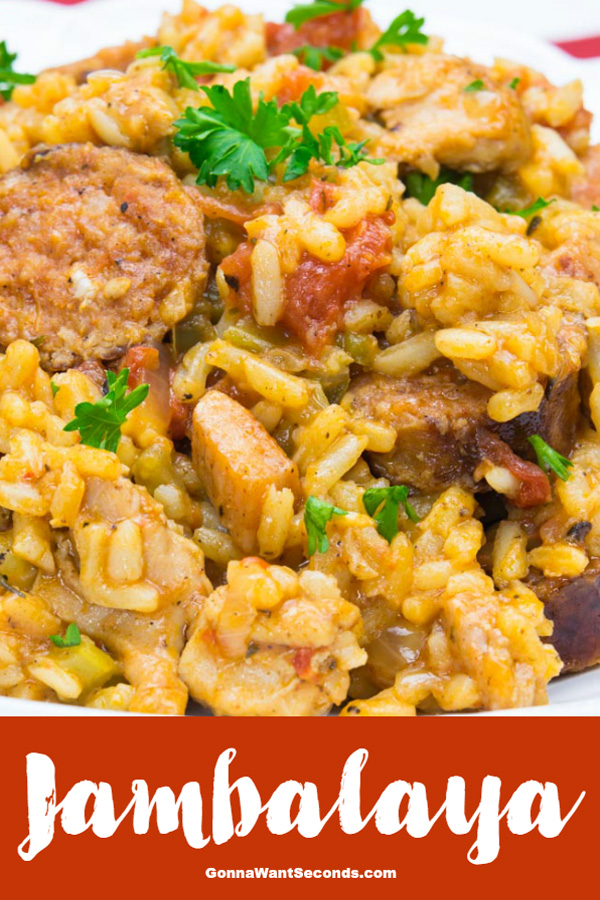 Take a trip down the bayou with the best Jambalaya recipe for busy cooks! This smoky, meaty entrée will conjure warm evenings with a zydeco beat. #Jambalaya #Recipe #Homemade #Authentic #NewOrleans #Sausage #Shrimp #Chicken #Seasoning #Rice #Louisiana #Meal #Sauce #Dinner #Spicy #WhatToServe #ComfortFoods #Andouille #Southern #SundaySupper #TassoHam #OnePot #Creole