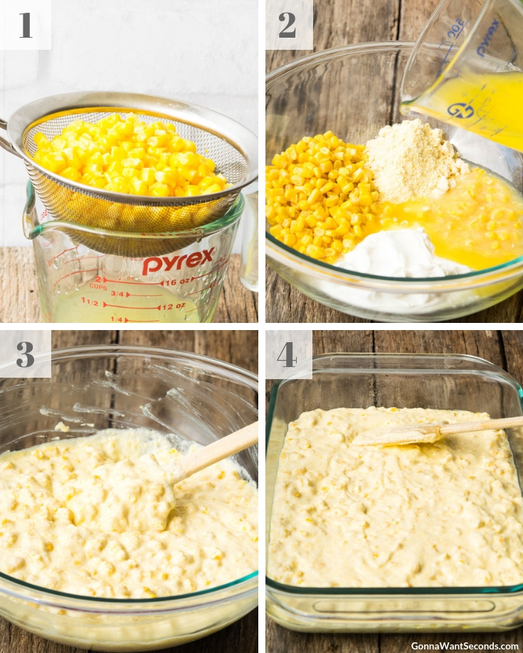 Step By Step How To Make Paula Deen Corn Casserole